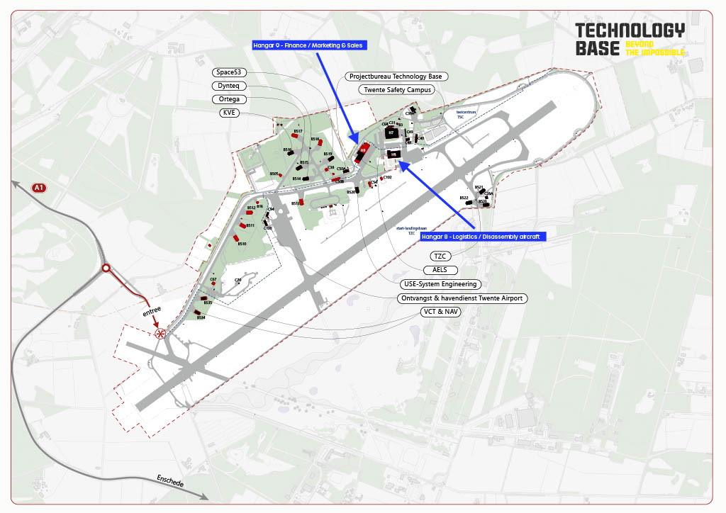 Map Technology Base Twente
